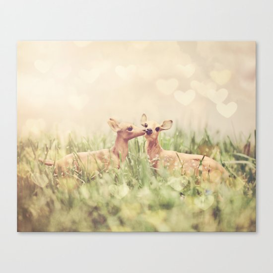 Let's Meet in the Middle Canvas Print