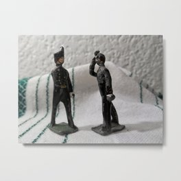 Broken Soldiers Metal Print