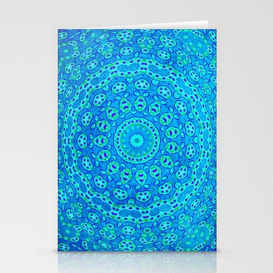 Mandala Texture Stationery Cards