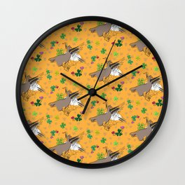 Funny geese Wall Clock