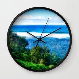 Silent Sage 0014 Kauai Wall Clock