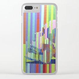El cuerpo del arcoiris Clear iPhone Case