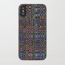 Multicolored pattern iPhone Case