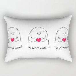 Love Ghostie Rectangular Pillow