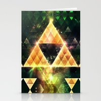 triforce Stationery Cards featuring Triforce by Spires
