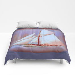 Ghost Sails Comforters