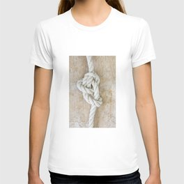 Knot on driftwood T-shirt