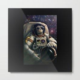 Monkey Space Metal Print