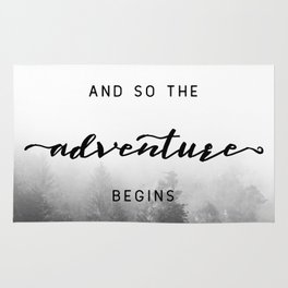 And So The Adventure Begins - New Day Rug