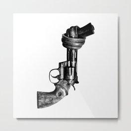 No guns Metal Print