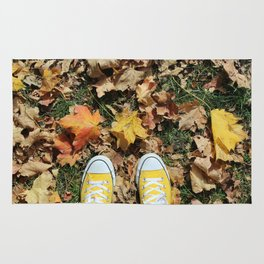 Falling for Converse Rug