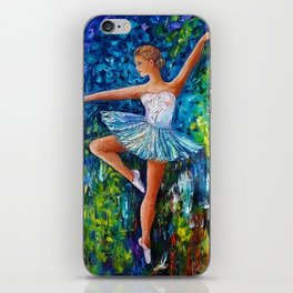 Dance In The Rain Of Color iPhone Skin