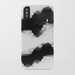 Hello from the The White World iPhone Case