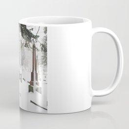 Cemetery Snowdrifts Coffee Mug