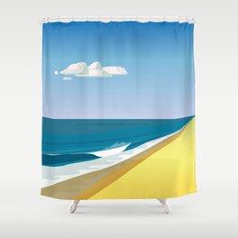 Rothko at the Beach Shower Curtain