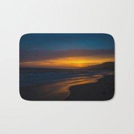Golden Sunset Bath Mat