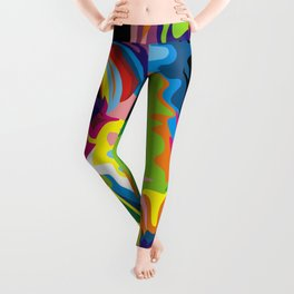 COLOURFUL GIRAFFE Leggings