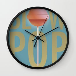 BLOW POP Wall Clock