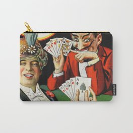 Carter The Great Magician Poster Carry-All Pouch