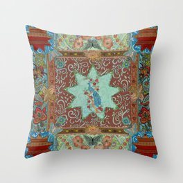 Khanum Throw Pillow