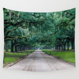 Tangled Trees Wall Tapestry