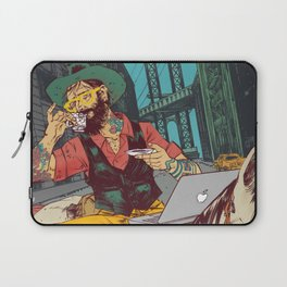Hipster Cowboy Laptop Sleeve