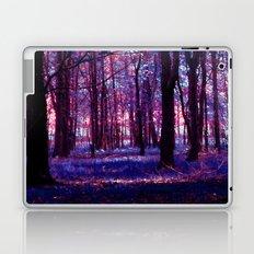 purple forest Laptop & iPad Skin