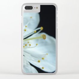 Almond tree flower Clear iPhone Case