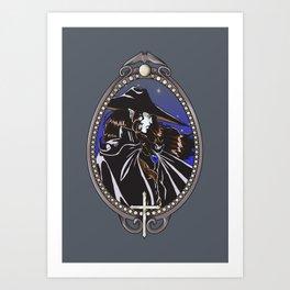 Dracula's Dunpeal Art Print