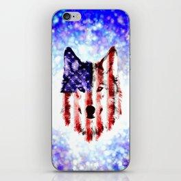 wolf USA iPhone Skin