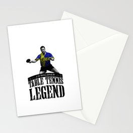 Jan Ove Waldner | Table Tennis Legend Stationery Cards