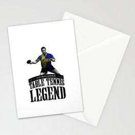 Jan Ove Waldner | Table Tennis Legend Stationery Cards