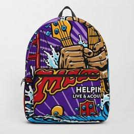 metal helping hands Backpack