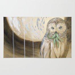Owlthulhu Rug