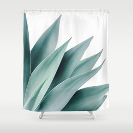 Agave flare II Shower Curtain