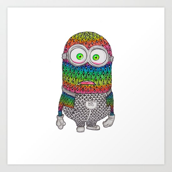 Minion by Luna Art Print