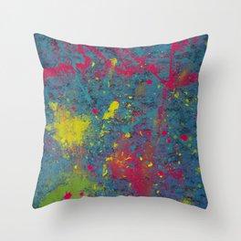 Fluorescent Dream Throw Pillow