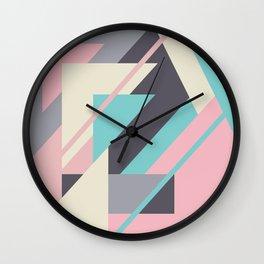 Delicious retro geometric Wall Clock