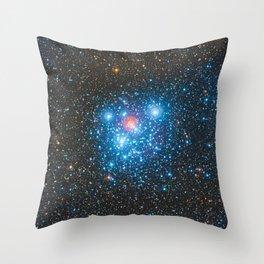 The Jewel Box Kappa Crucis Star Cluster NGC 4755 Throw Pillow