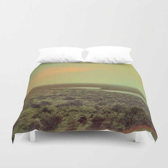 Lonely Landscape Duvet Cover