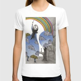 Rainbow Mine T-shirt