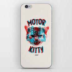 Motor Kitty iPhone & iPod Skin