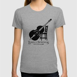 Double Bass Lord of the Strings T-shirt