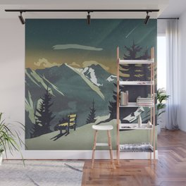 Pause Wall Mural