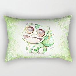 Cute Little Bulba  Rectangular Pillow