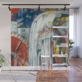 Franz Marc - The Bewitched Mill Wall Mural