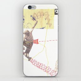 """""""going nowhere fast"""" iPhone Skin"""