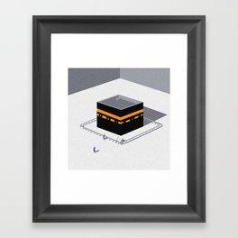 Kaaba Framed Art Print