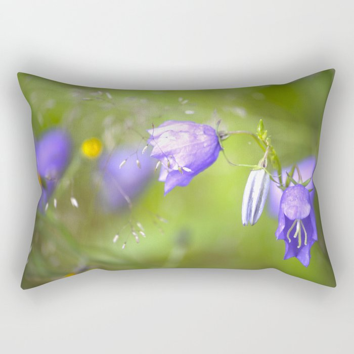 Bluebells Meadow #decor #society6 Rectangular Pillow