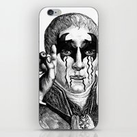 heavy metal iPhone & iPod Skins featuring Heavy metal by DIVIDUS